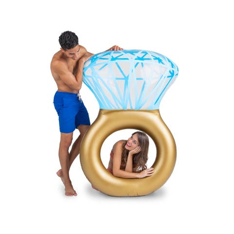 BigMouth Inc. Bling Ring Pool Float