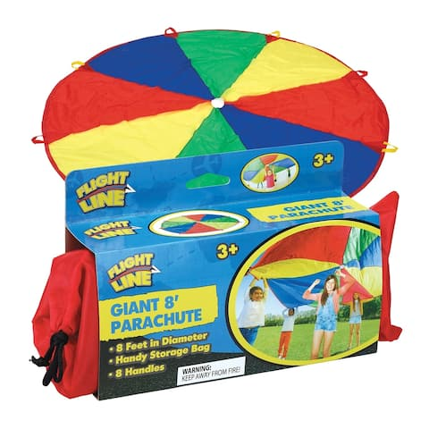 Kids 8 Foot Play Parachute Toy