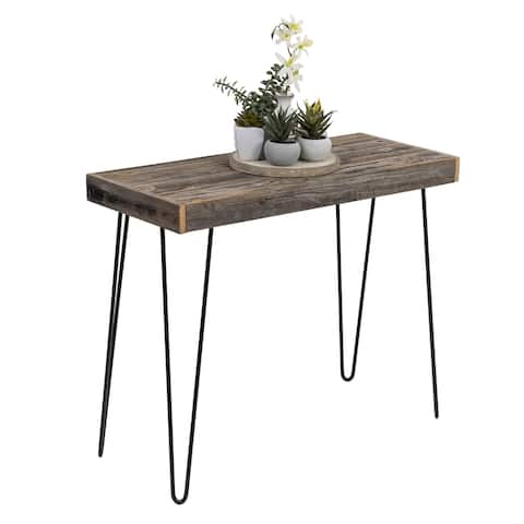 Harpen Reclaimed Wood Small Console Table