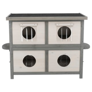 "TRIXIE natura Cat Home for Multiple Cats - 28"" x 41.5"" x 22.25"""