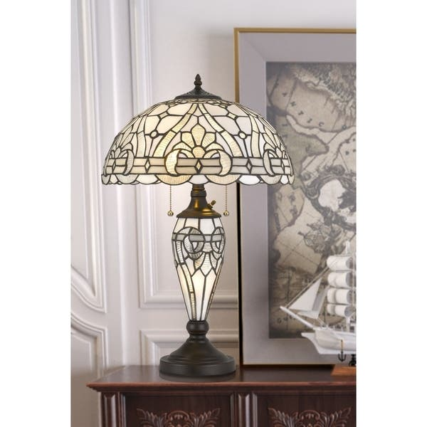 Tiffany Table Lamp With Night Light 24 50 Overstock 30997761