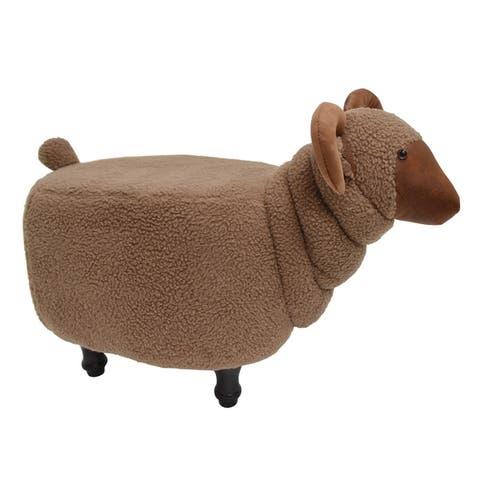 Kids Upholstered Sheep Ottoman