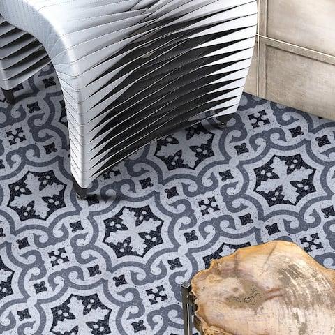 SimpliTILE 8 x 8 Peel & Stick Mosaic Tile (Pack of 12)