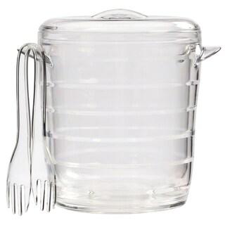 Creative Ware Acrylic Ice Bucket & Tongs - 3 quart