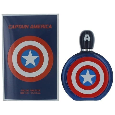 Marvel Captain America 3.4 eau de toilette sp