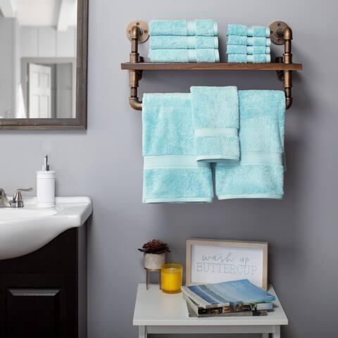 Miranda Haus Marche Egyptian Cotton 10-Piece Towel Set - 10-piece Set