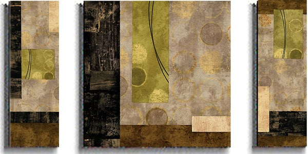 Brent Nelson 'Elevate and Escalate' 3-piece Art Set