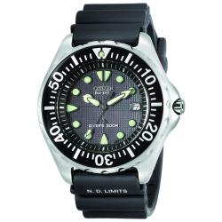 Citizen Men's Eco-drive Professional Diver Rubber Strap Watch