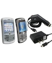 Eforcity Clear Skin/ Protector/ Car/ AC Charger for Blackberry 8300 - Thumbnail 2