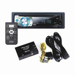Pioneer DEH-P4001HD Car CD Receiver and HD Radio (Refurbished)