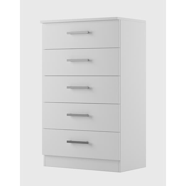 Hanover Solid Wood White Tall 5