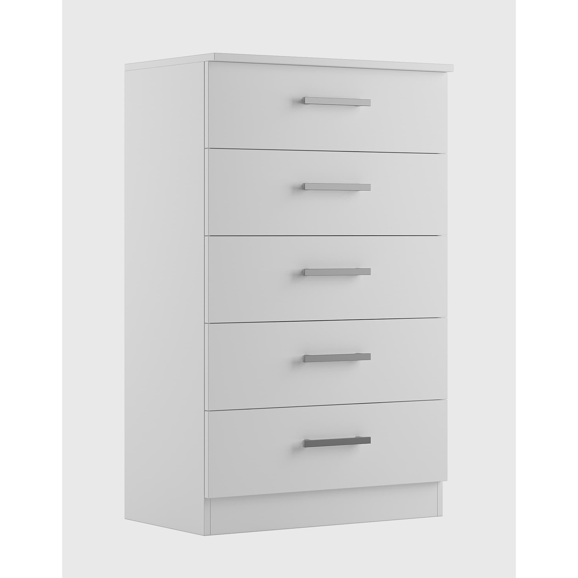 White Solid Wood Tall Dresser ~ BestDressers 2020