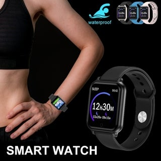 Link to Fitness Tracker Bluetooth Smart Watch Sport Wristband IP67 Waterproof Heart Rate Blood Pressure Monitor for IOS Android Similar Items in Activity Trackers & Pedometers