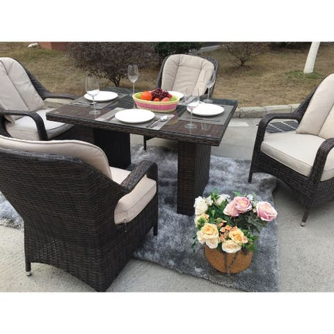 5-Piece Dinner tables and chairs With Cushions