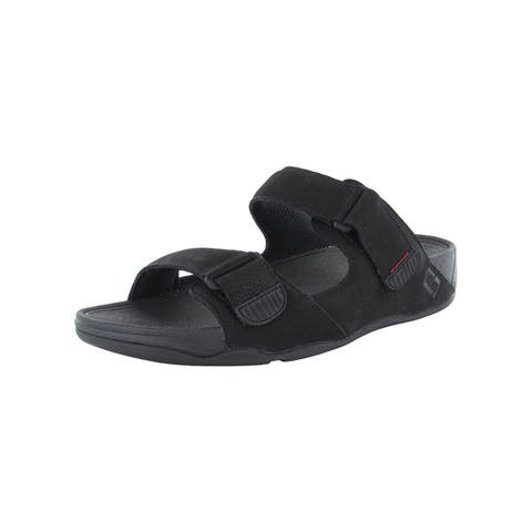 Fitflop Mens Gogh Moc Slide Adjustable Sandals