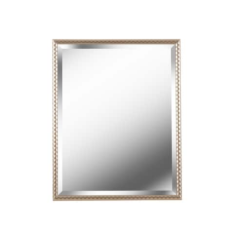 "Dane Rectangular Wall Mirror - 24"" x 30"""