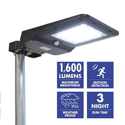 Wagan 1600 Lumens Solar Powered Street Light (Head Only) - 1