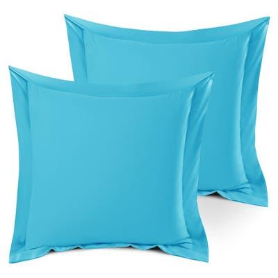 Nestl Soft Double Brushed Microfiber Pillow Shams - Set of 2