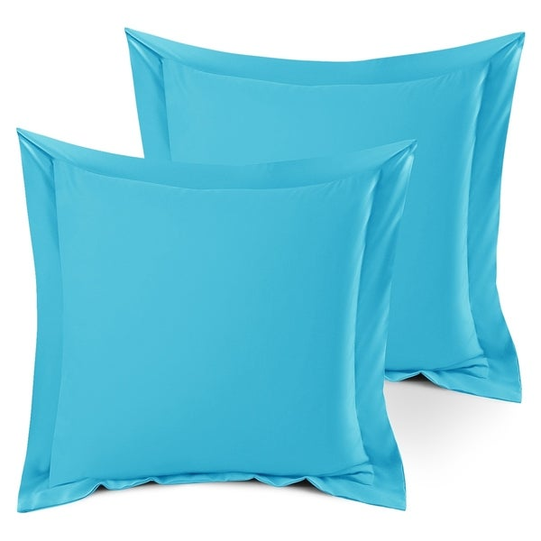 Nestl Bedding Soft Double Brushed Microfiber Pillow Shams - Set of 2 (As Is Item). Opens flyout.