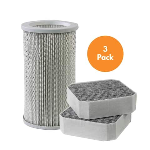 Replacement Filter Bundle Compatible with Molekule PECO-Filter and Pre-Filter for Molekule Air Purifier, 3 Pack