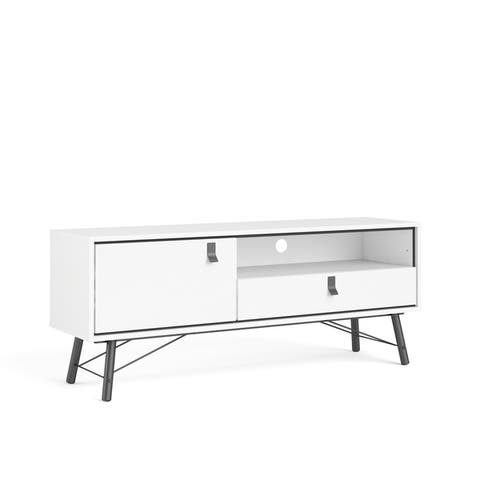 Carson Carrington Ry 1-door and 1-drawer TV Stand with Open Shelf