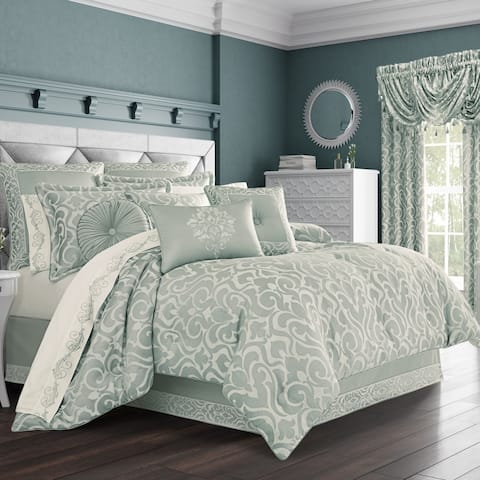 Five Queens Court Luther Woven Jacquard Comforter Set