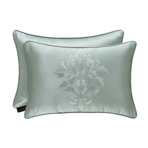 Five Queens Court Luther Boudoir Decorative Throw Pillow