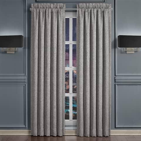 Five Queens Court Genesis 84 Inch Luxury Window Panel Pair
