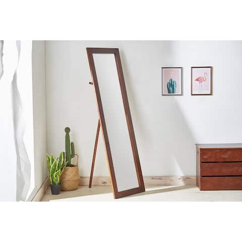 62 In. Mid Century Modern Cheval Standing Mirror