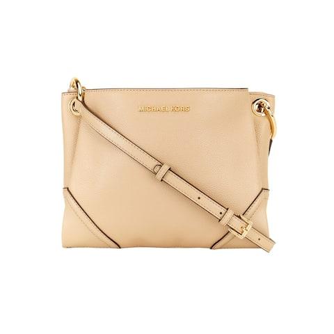 Michael Kors Women's Nicole Triple Compartment Crossbody Bag, Bisque 35T9GNIC7L