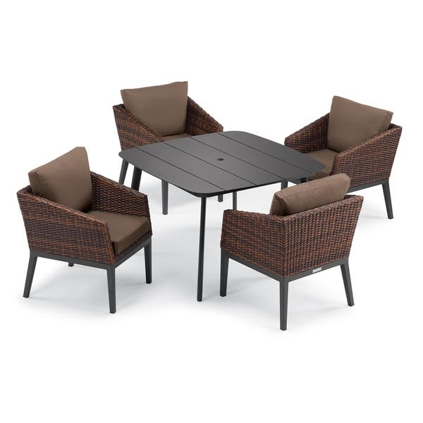 Merauke 5 Piece Carbon Dining Table Set By Havenside Home On Sale Overstock 31011045