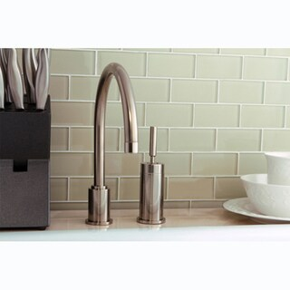 Concord Satin-Nickel-Finished Kitchen Faucet