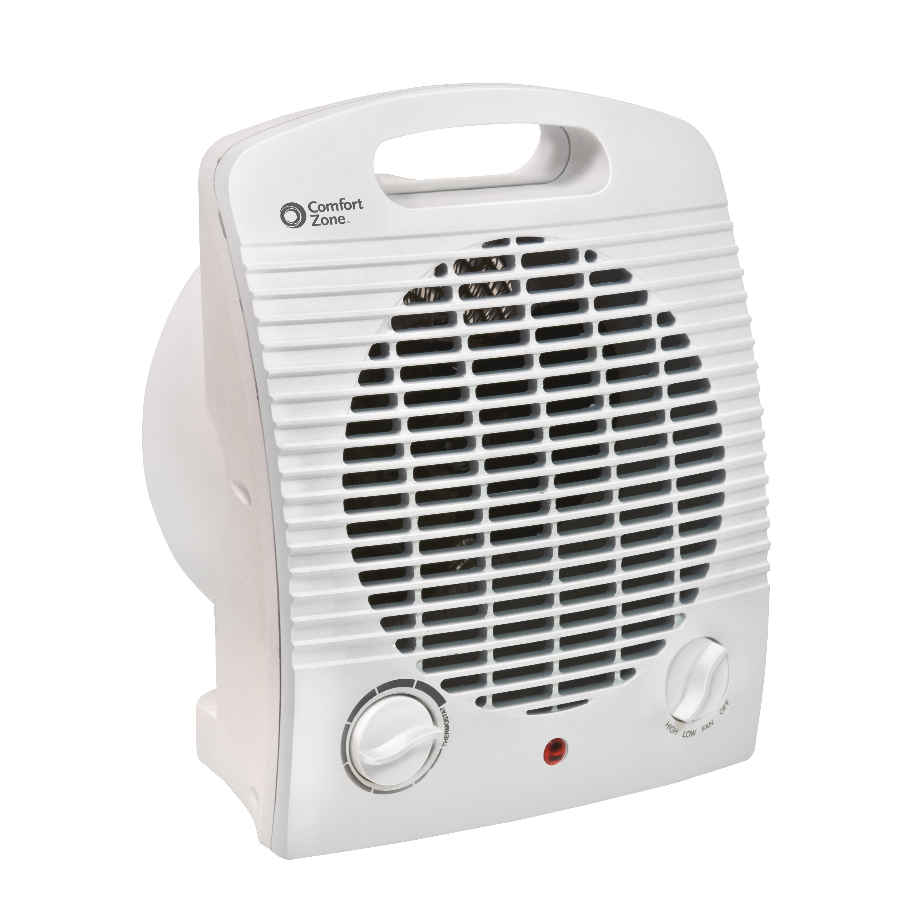 Comfort Glow Infrared Quartz Wall Heater 1500 Watt w// Stay Cool Cabinet and Fan