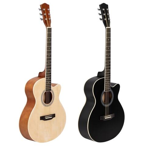 Full Size Cutaway Acoustic Guitar 20 Frets