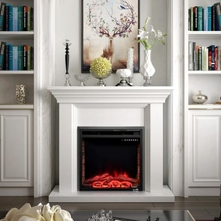 Link to 750W/1500W Electric Fireplace Insert Firebox with Remote control Similar Items in Fireplaces