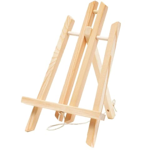 12x Wood Tabletop Tripod Display Easel for Photo Painting Canvas Art 11""