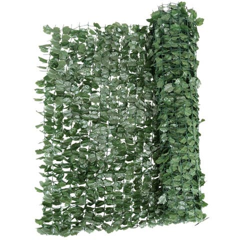40 x95 Inch Artificial Fencing Faux Ivy Leaves Privacy Fence