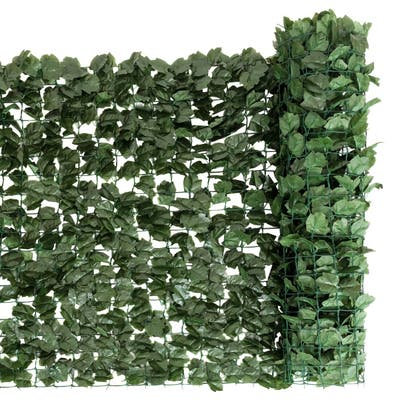 59x118 Inch Garden Artificial Fencing Faux Ivy Leaves Privacy Fence