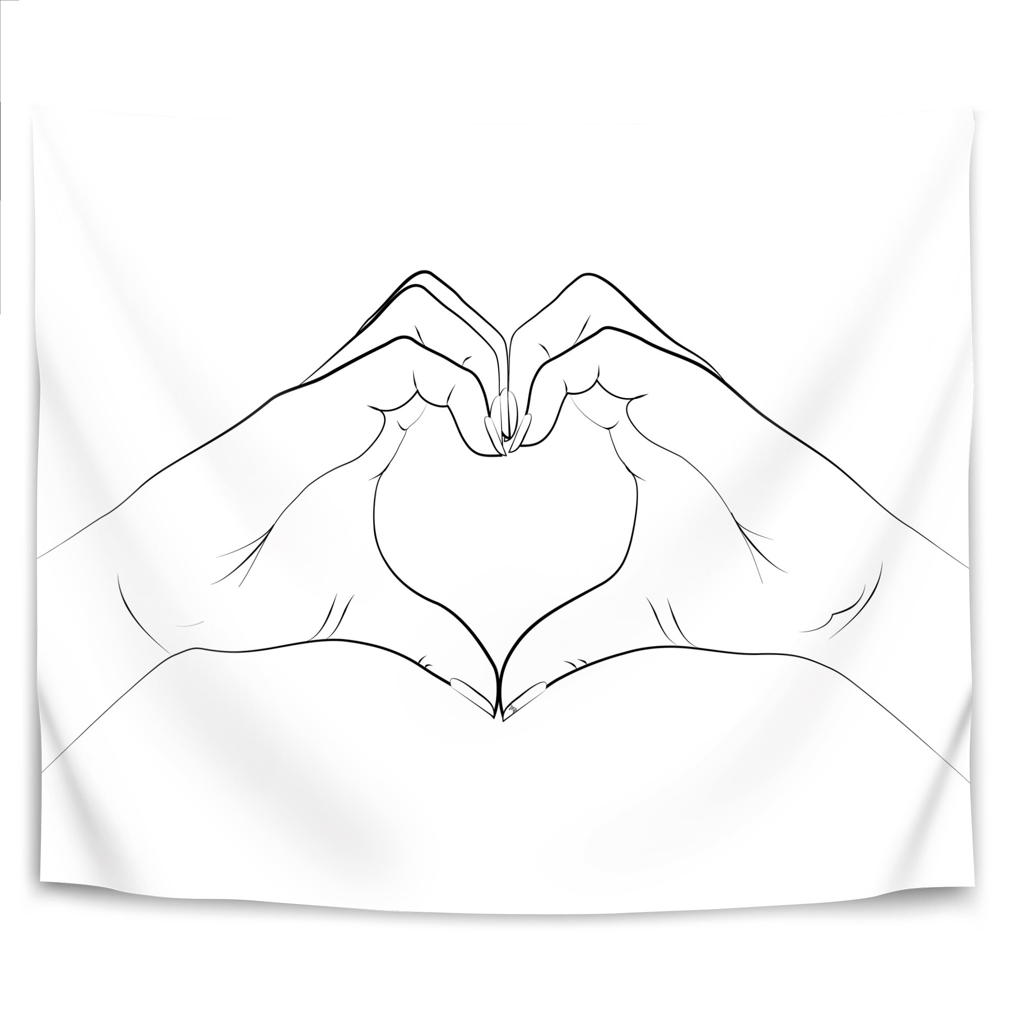 Hand Heart Overstock 31026099