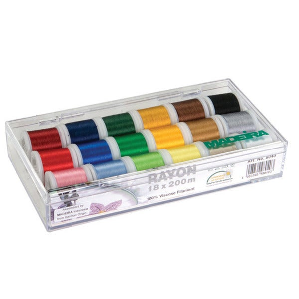 Madeira 18-spool Gift Box with Rayon