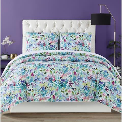 Christian Siriano NY® Dahlia 3 Piece Comforter Set