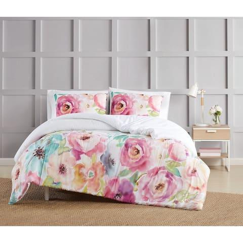 Christian Siriano NY® Spring Flowers 3 Piece Comforter Set