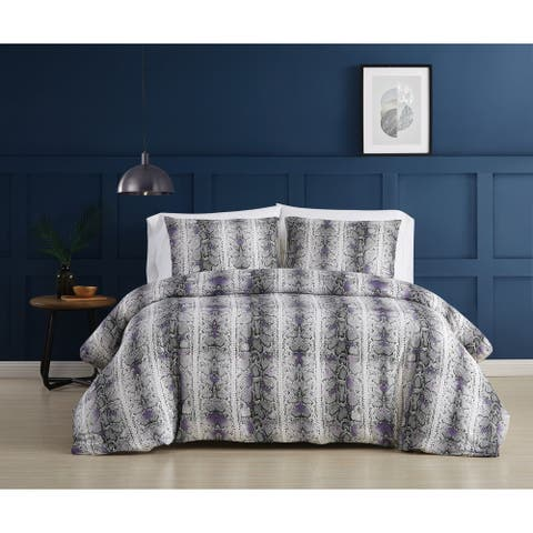 Christian Siriano NY® Rebel 3 Piece Duvet Cover Set