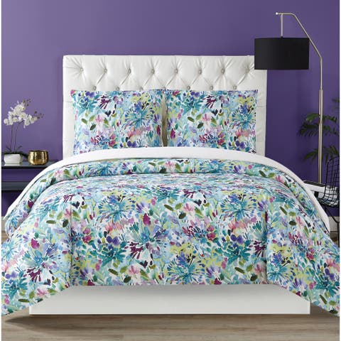 Christian Siriano NY® Dahlia 3 Piece Duvet Cover Set