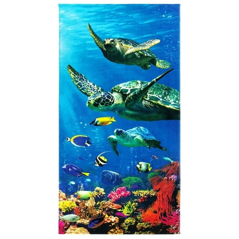 Kaufman Turtle Beach Towels and Pool Towel 30 x 60 - 30 x 60