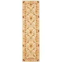 Safavieh Handmade Anatolia Oriental Oushak Ivory Hand-spun Wool Runner Rug - 2'3 x 10'