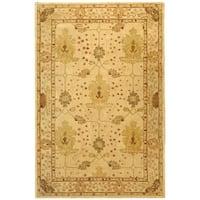 Safavieh Handmade Anatolia Oriental Oushak Ivory Hand-spun Wool Rug - 8' x 10'