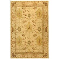 Safavieh Handmade Anatolia Oriental Oushak Ivory Hand-spun Wool Rug - 9' x 12'