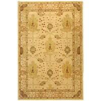 Safavieh Handmade Anatolia Oriental Oushak Ivory Hand-spun Wool Rug (6' x 9')