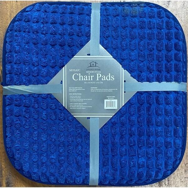 Mosaic Memory Foam 2PK Chair Pads. Opens flyout.